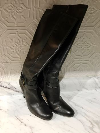gran variedad de estilos diseño superior Productos Botas a la rodilla Negras Massimo Dutti - GoTrendier - 339679
