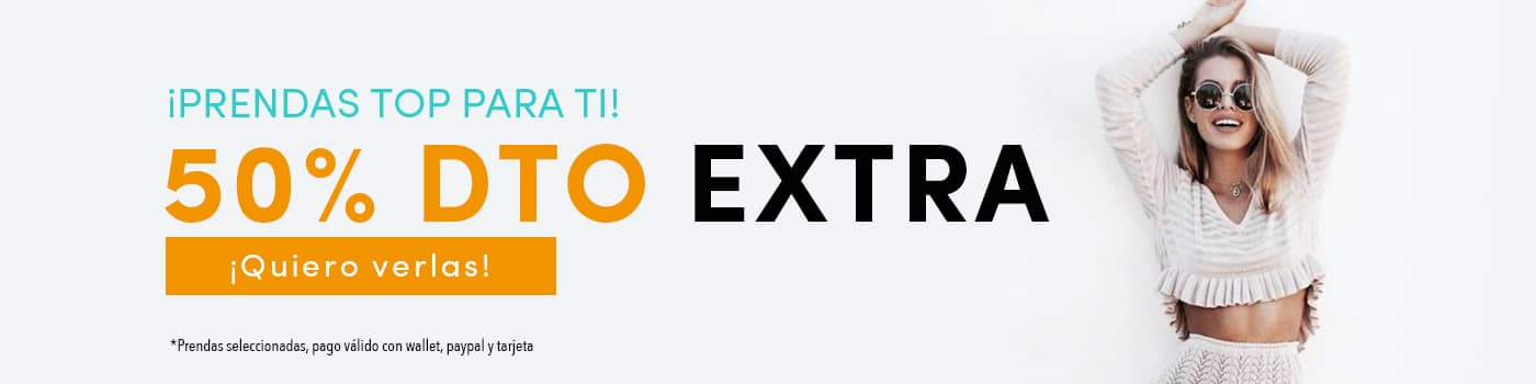 50% dto extra